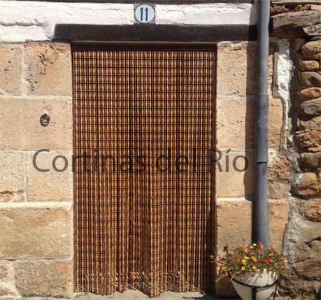 Cortinas de tiras antimoscas mosquiteras cortinas para for Cortinas para puertas exteriores ikea