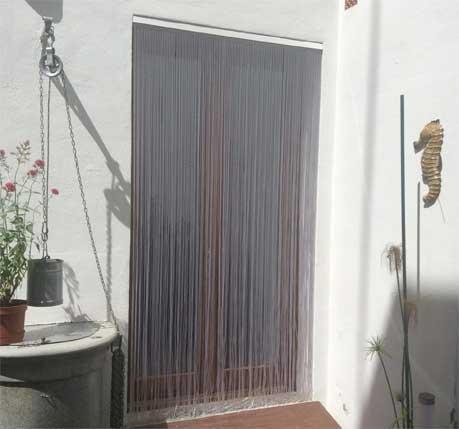 Cortinas de tiras antimoscas mosquiteras cortinas para - Como hacer cortinas de tiras ...