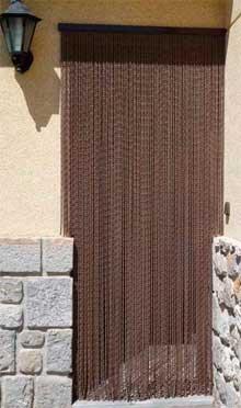 Cortinas de tiras antimoscas mosquiteras cortinas para for Cortinas puertas exterior baratas